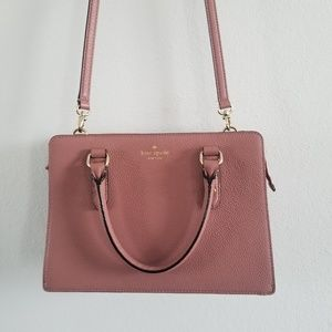 Kate Spade   Dusty Pink Square Bag